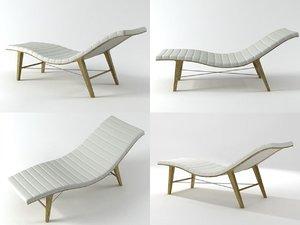 chaise longue 3D
