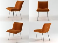 3D calin chair model