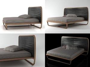3D buonanotte valentina bed model