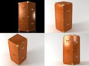 3D model cofano baxter