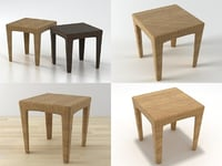 3D panama table