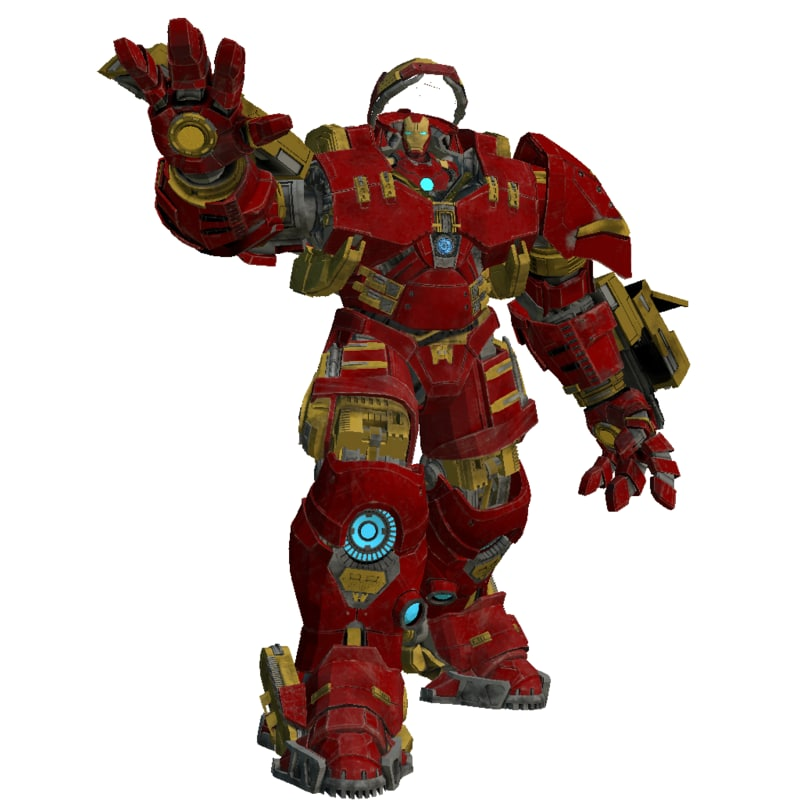 hulkbuster mark 3D model