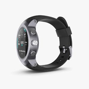 3D lg watch sport model