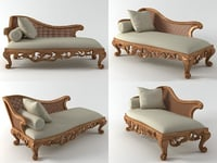 chaise lounge 116 3D model