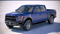 Ford F-150 Raptor 2017 crewcab