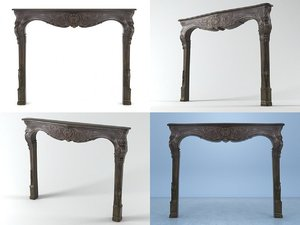 3D fireplace chelini