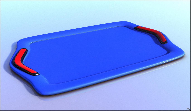 3D model plastic