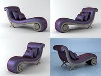 3D chris-x lounge model