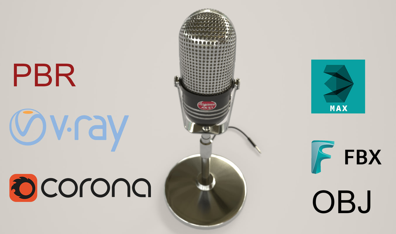 3D argonne ar-57 microphone