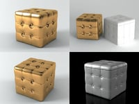 3D amarcord stool model