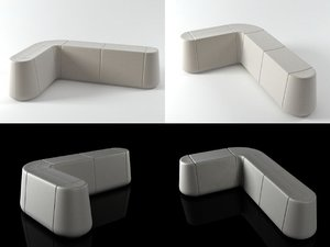 steady seating 3D model