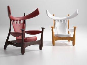 aspas armchair 1962 3D model