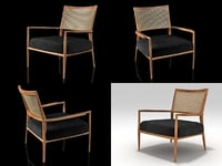 mf5 armchair 3D model