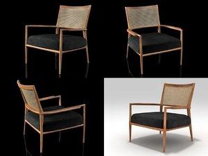 mf5 armchair 3D model