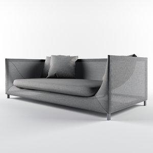 3D sofas paola lenti model
