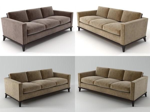 hudson sofa 3D