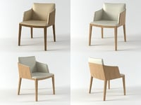 beatrice armchair 3D model