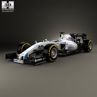 3D williams fw37 fw model