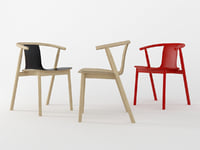 bac chair cappellini 3D model