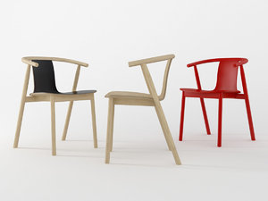bac chair cappellini 3D model