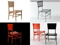 astania chair 3D