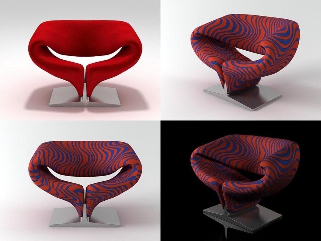 ribbon artifort 3D