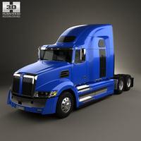 3D model western star 5700xe