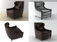 3D tuileries chair
