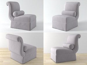 3D model 442 chair