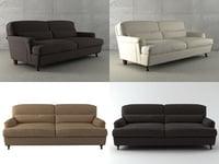 raffles twoseater sofa 3D