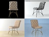 3D madam chair