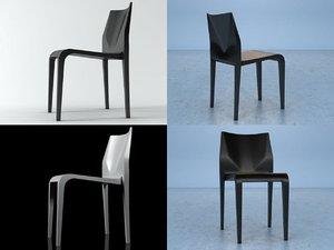3D laleggera chair 301 model