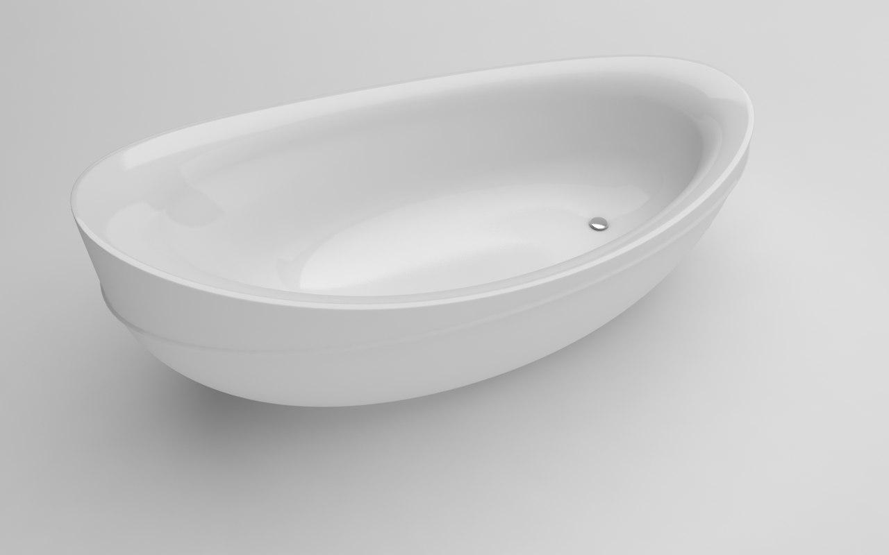 ellipse 190x95x81 3D model