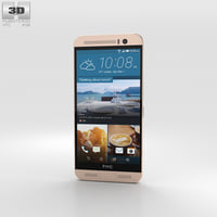 htc rose gold 3D model