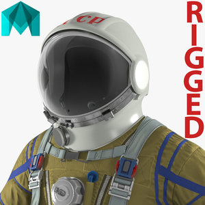 ussr space suit strizh model