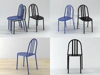 3D model mallet-stevens chair