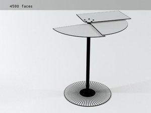 3D propeller table