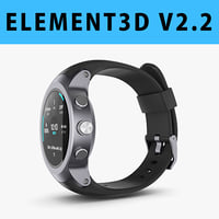 E3D - LG Watch Sport model