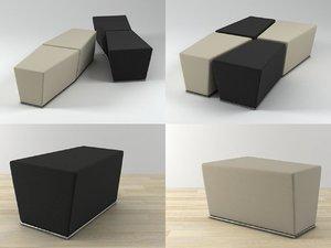 area pouf model