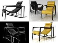 transat armchair 3D