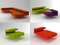 lowseat moroso 3D model