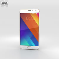 3D meizu mx5 gold