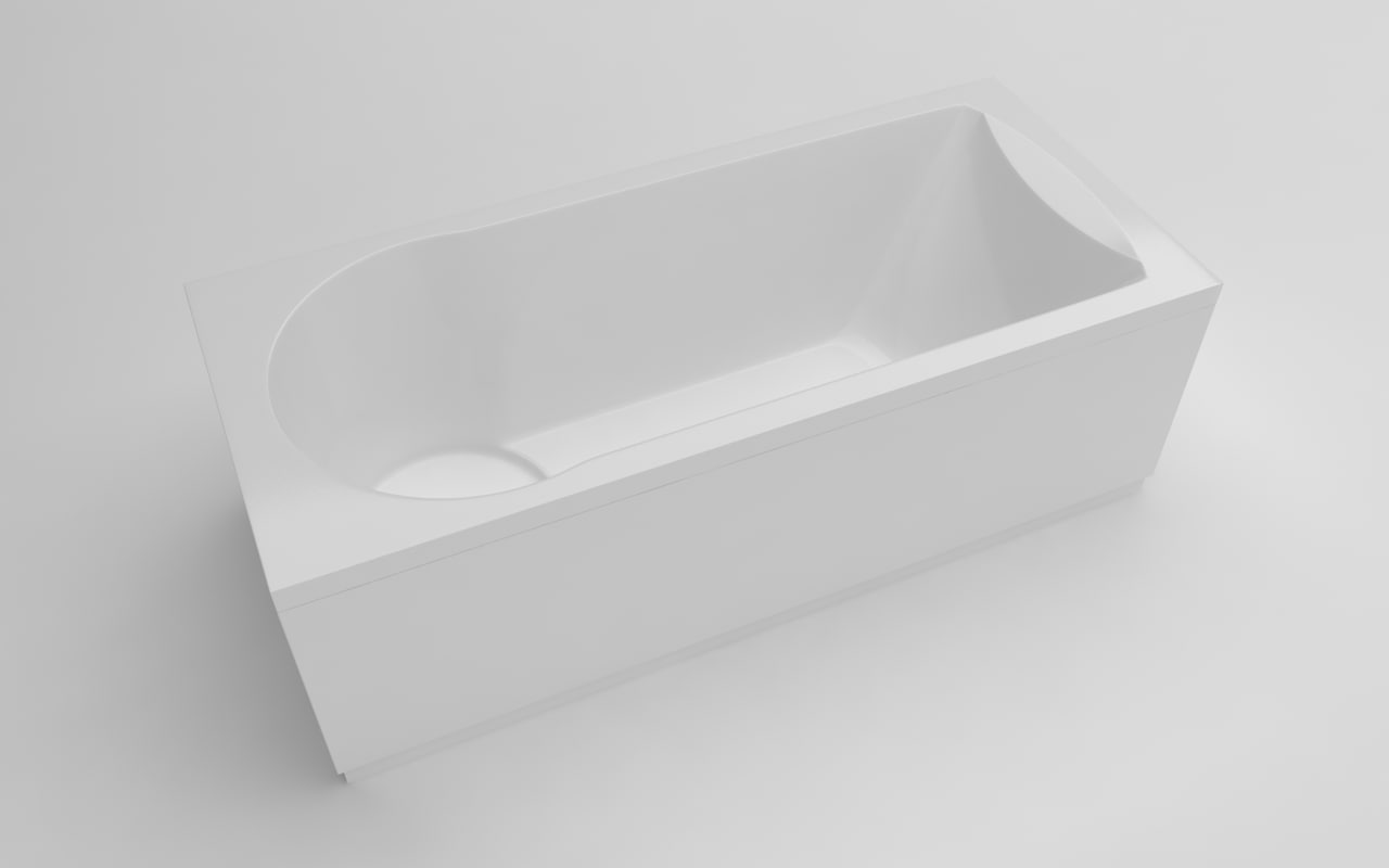 bathtub 170x75x61 3D