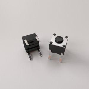 tactile push button 3D model