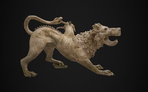ancient chimera 3D