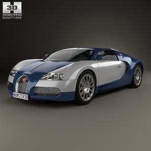 3D bugatti veyron 2005