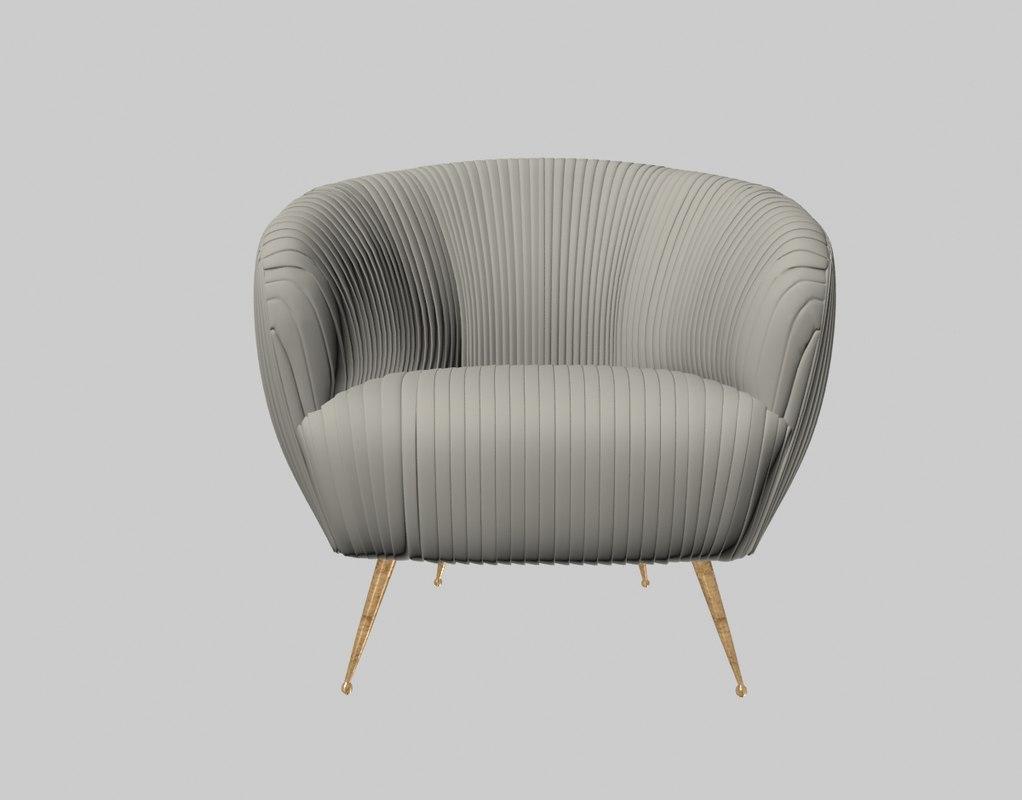 Souffle Chair Kelly Wearsler Model