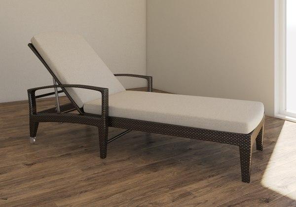 chaise longue model