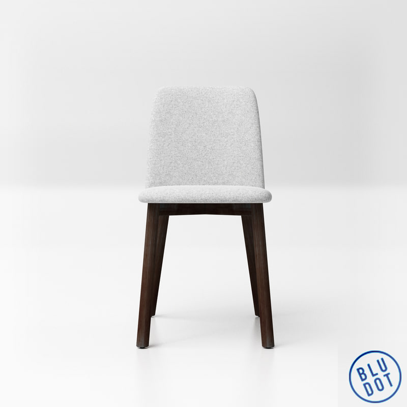 3D bludot chip chair