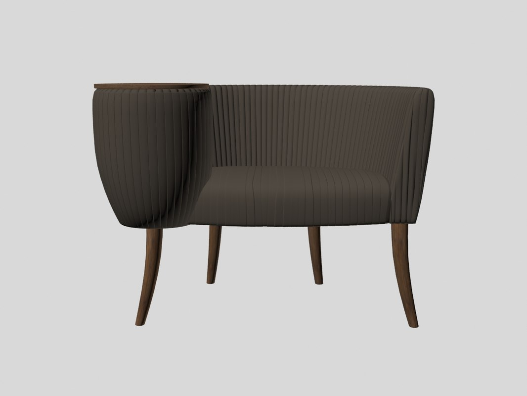 Souffle Tail Chair Kelly Model